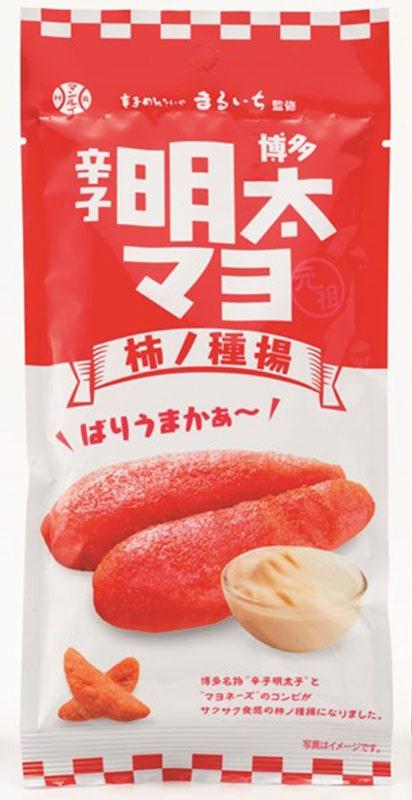 九州丸一食品 博多 辛子明太マヨ 柿の種揚 5個セット(40g×5) 常温便