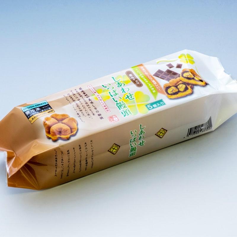 聖萬堂 しあわせ饅頭セット 5個×2袋 冷凍便