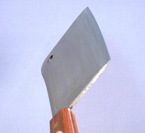 クレーバーナイフ18cm 日本鋼全鋼 TKG 背厚4mm 刃渡180mm