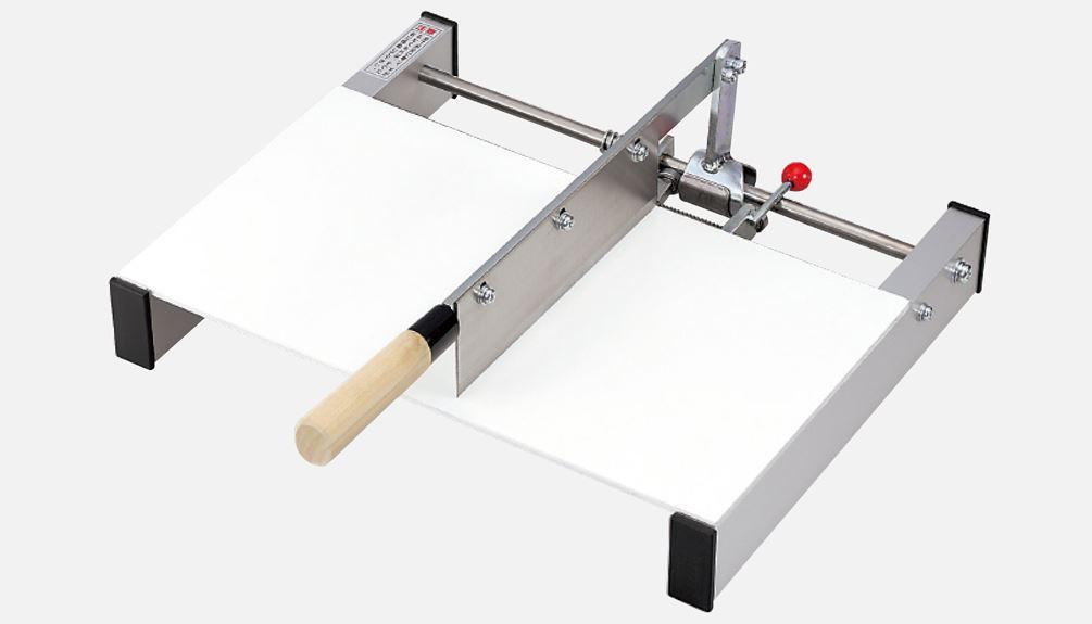 麺切り機 幅445mm型 自由設定・堅牢型