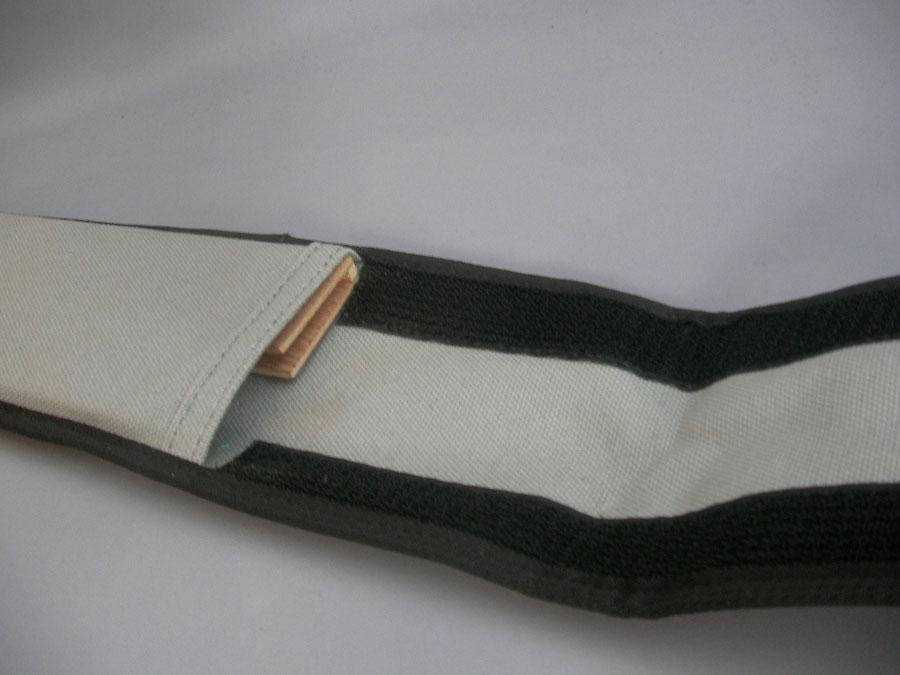 帆布製 包丁ケース 【G-M】 対応品240mmの牛刀、薄刃 専用木製サヤ付