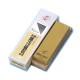 #2000【中砥】超セラ砥石 エビ印 ナニワ(NANIWA) SS-2000(ゴールド) 台付き
