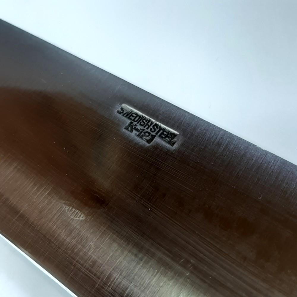 名入れ無料・本刃付け可 牛刀18cm 堺菊守 スウェーデン鋼 S-018 刃渡180mm