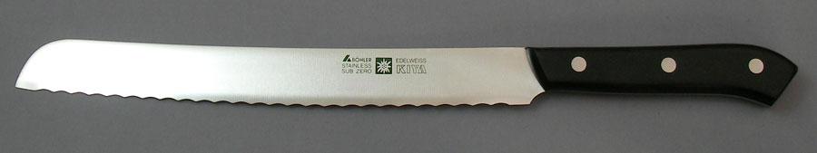 パン切22.5cm 木屋 エーデルワイス No.180 刃渡り225mm