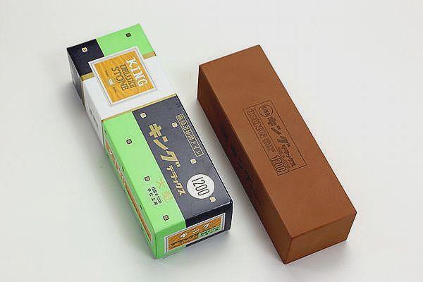 在庫処分特価 #1200【中砥】キングデラックス(大型)角砥石