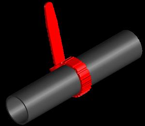 ジッパープラグ(赤):32000-010950 (ご注文最低ロット20個以上)【メーカー直送】