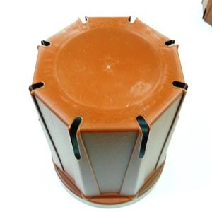 とんでもないポットCSM75 直径7.5cmスリット鉢 1600鉢入