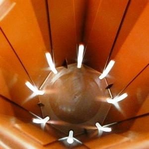 とんでもないポットCSM60 直径6cmスリット鉢 1850鉢入