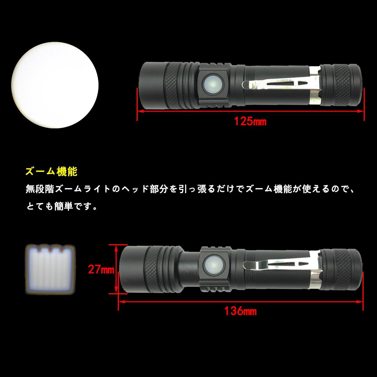 LED懐中電灯