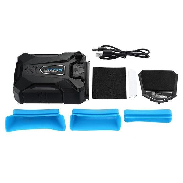 ノートパソコン用冷却ファン 吸引式クーラー 静音タイプ CPUクーラー/ノートPCクーラー/USB冷却器/USB冷却ファン/ノート冷却ファン/USBクーラーファン(ブラック)