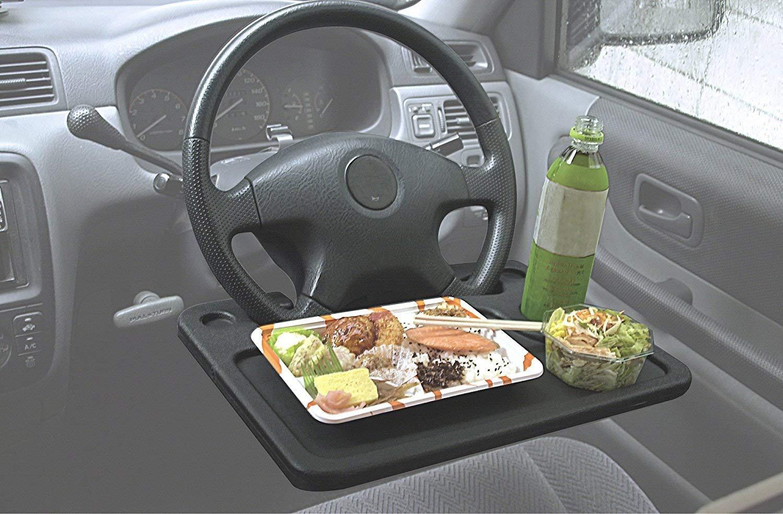ハンドルテーブル ステアリングテーブル 簡単取付 車用テーブル