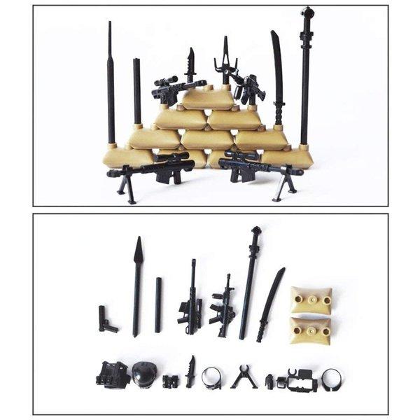ミニフィギュア (ミニフィグ)軍事 兵士12体セット レゴ対応 互換