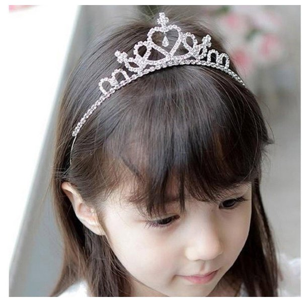 Li.Va. ヘアアクセサリー10点+ ティアラセット(黄色) 可愛い ヘアアクセサリー 髪飾り キッズ アクセサリー 女の子