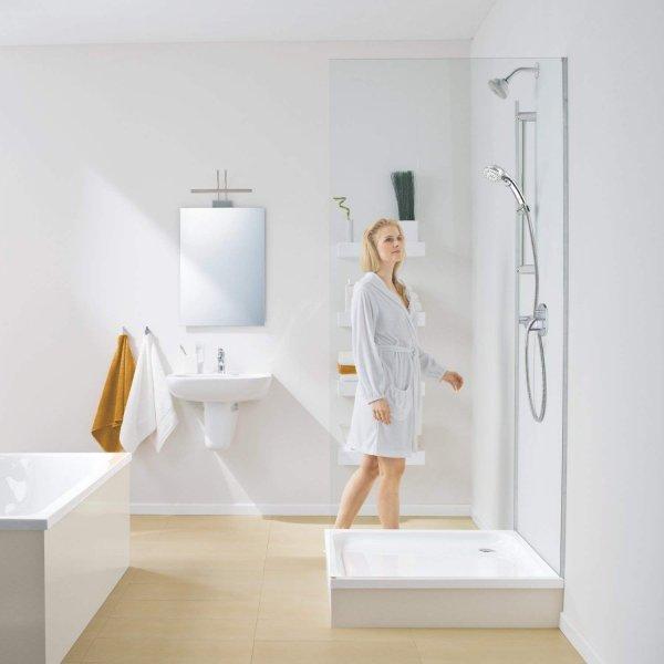 シャワーヘッド / 5段階モード / ストップボタン/節水 シャワー クロムメッキ
