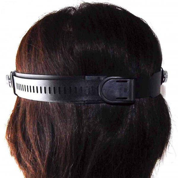 2LED めがね型 ルーペ 拡大鏡 8点 セット 拡大眼鏡