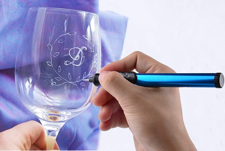 電池式 電動 彫刻ペン 金属 木材 ガラス 文字入れ 刻み イラスト 加工などDIY工具