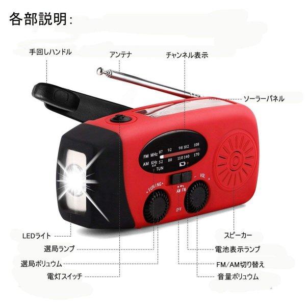 緊急用ラジオ