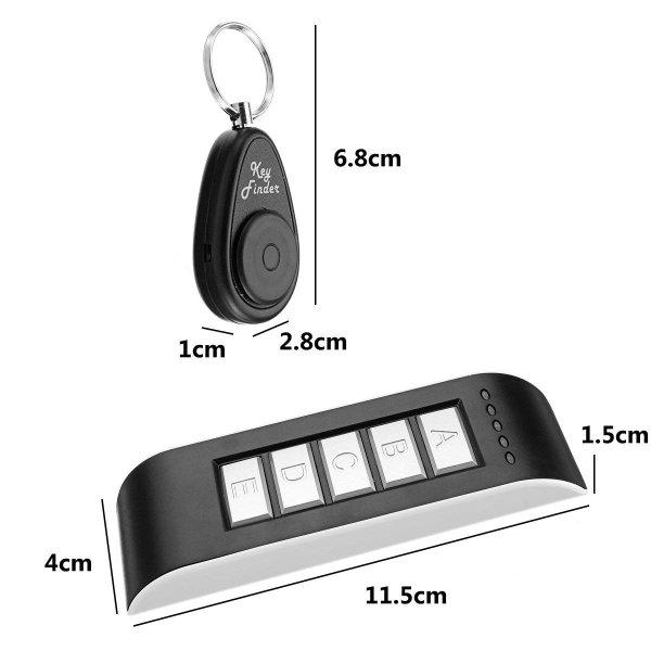 キーファインダー キーホルダー 探し物発見器 忘れ物防止 5個受信機セット 鍵/リモコン/携帯/財布