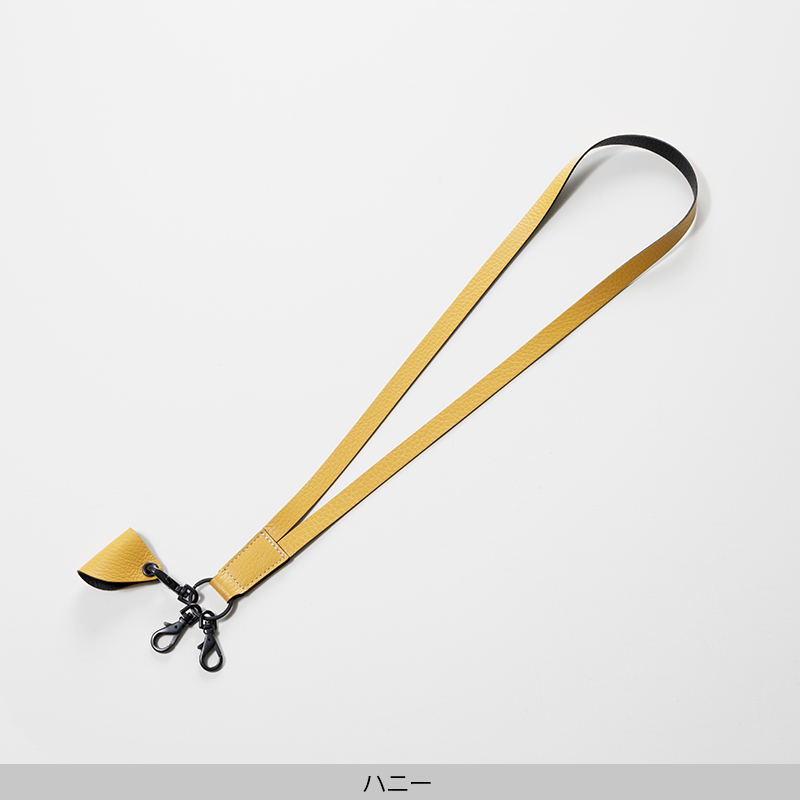 ネックストラップ[leather item pendant]