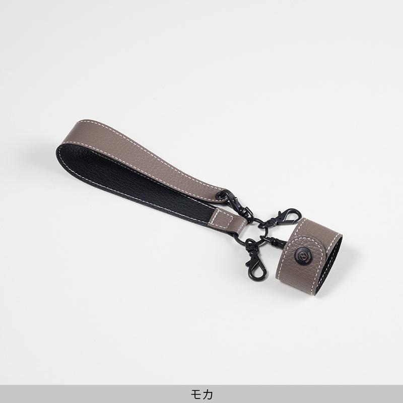 ハンドストラップ[leather item pendant]