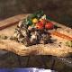 【送料別】TSUKADA PREMIUM OUTDOOR 黒さつま鶏炭火焼用 味付けカット5P【冷凍・非加熱品】