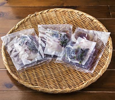 愛媛県宇和島市の郷土料理!宇和島鯛めしセット 3人前(冷凍)
