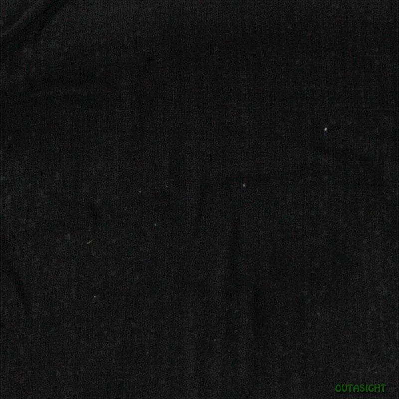 タイ コットン(木綿)反物生地 手紡ぎ 手織 黒色A TNT-35