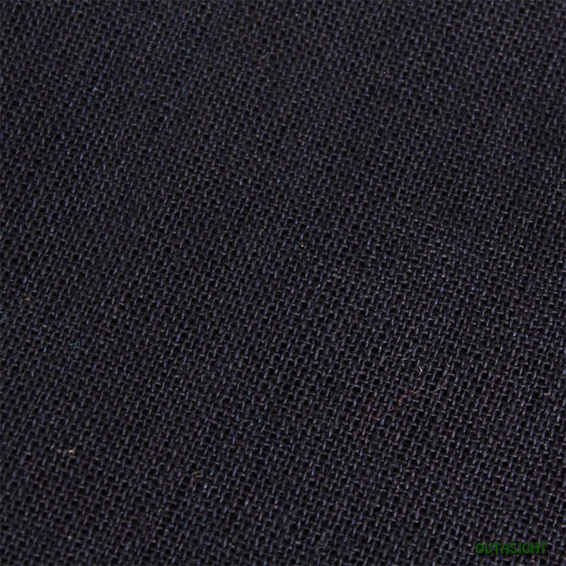 タイ コットン(木綿)反物生地 藍鉄色 TNT-37