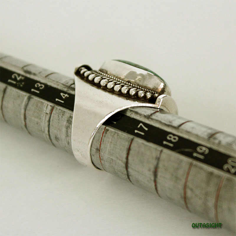 チベタンオールドターコイズ シルバーリング SRTN-10