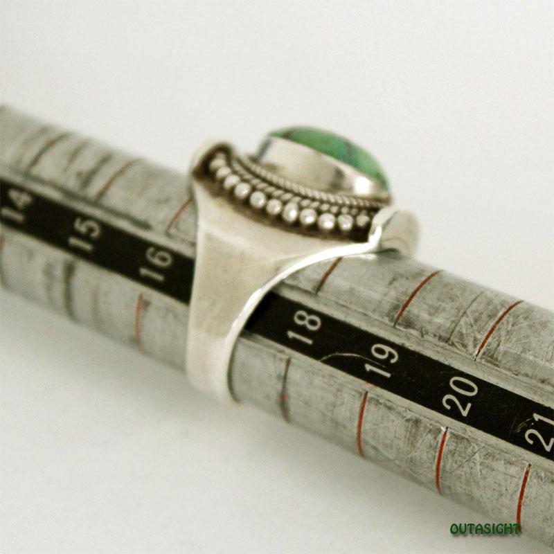 チベタンオールドターコイズ シルバーリング SRTN-12