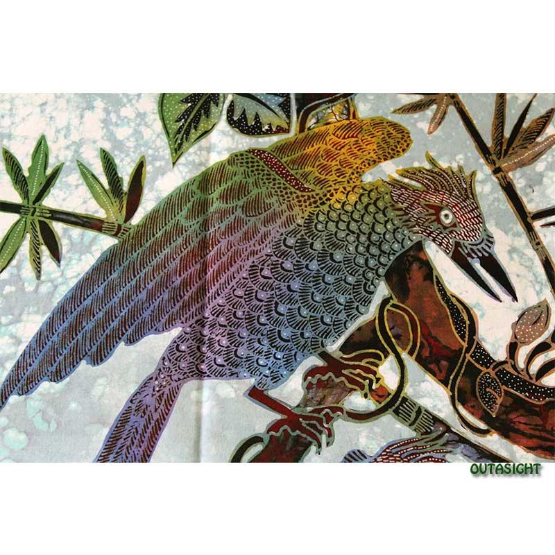 バティックペインティング (手描きろうけつ染絵画) No.87 インドネシア INNT-93