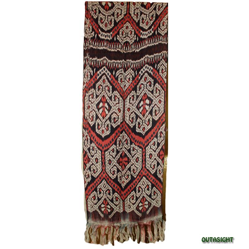 イカット 手織り ティモール島 インドネシア TIMOW-B