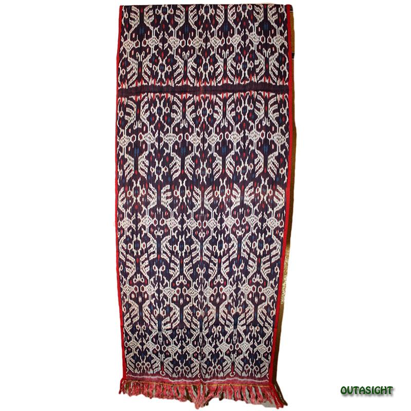 イカット 手織り ティモール島 インドネシア TIMOW-D