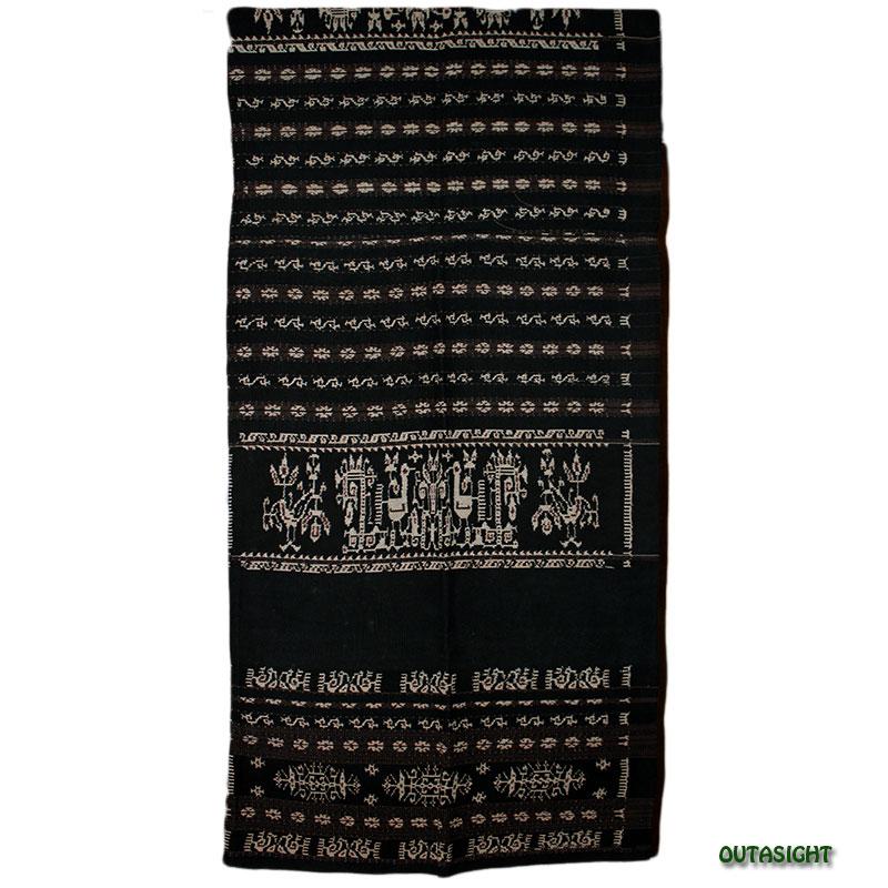 イカット 手織り 腰衣 アンティーク サブ島 インドネシア INAT-05