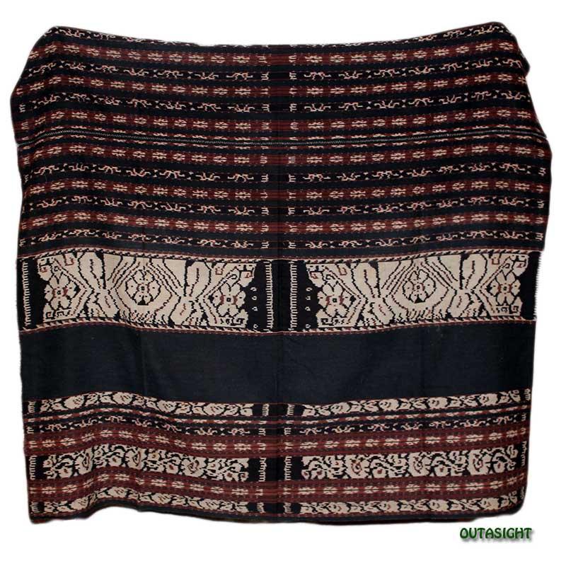 イカット 手織りE サブ島 インドネシア INAT-11