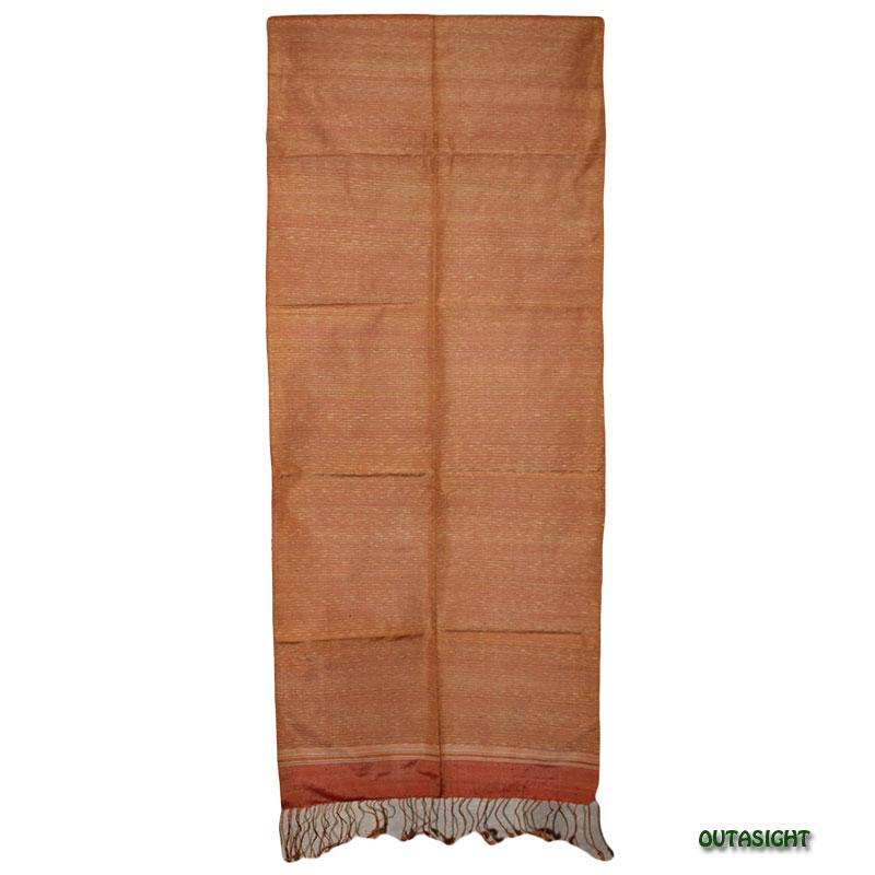 手織り絣布 100%シルク タイ TWIS-15