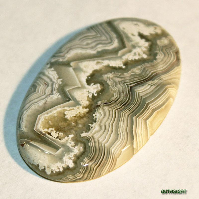 アゲート/縞めのう ルース 天然石 南米 51041201-04