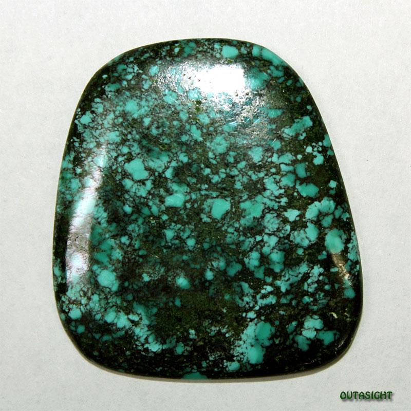 チベタンターコイズ ルース 天然石 5114-02