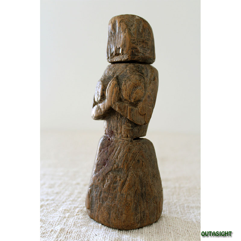 木彫り像 アンティーク ネパール NAS-01