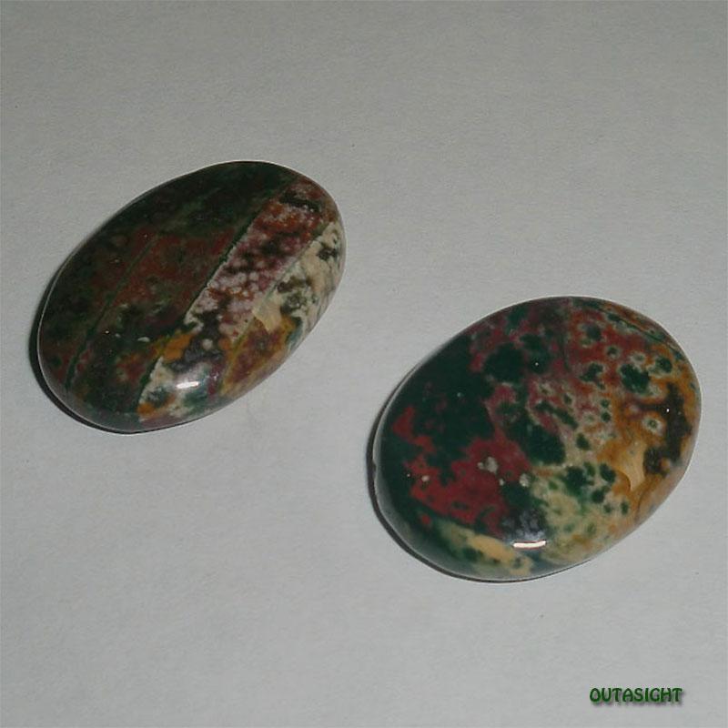ジャスパー ルース 天然石10JSP02 2個1組