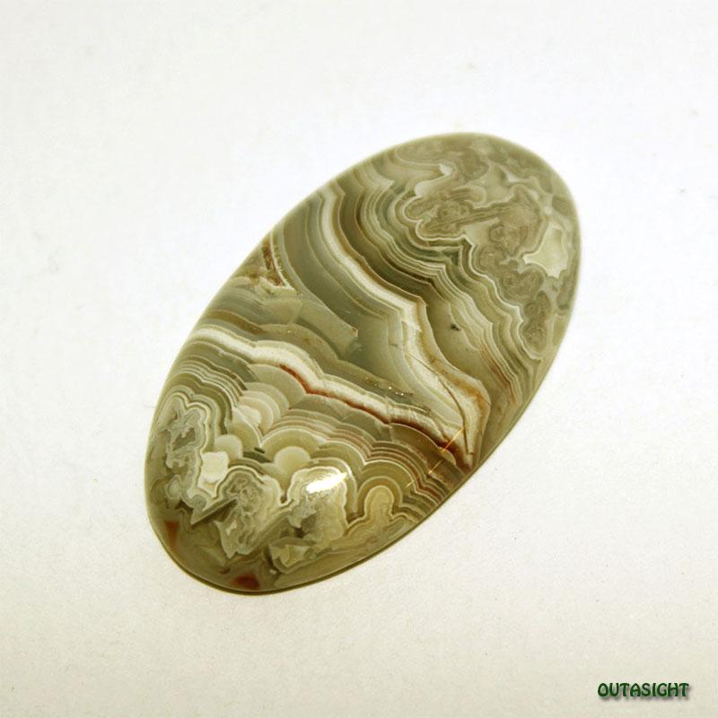 アゲート/縞めのう ルース 天然石 南米 IST-381