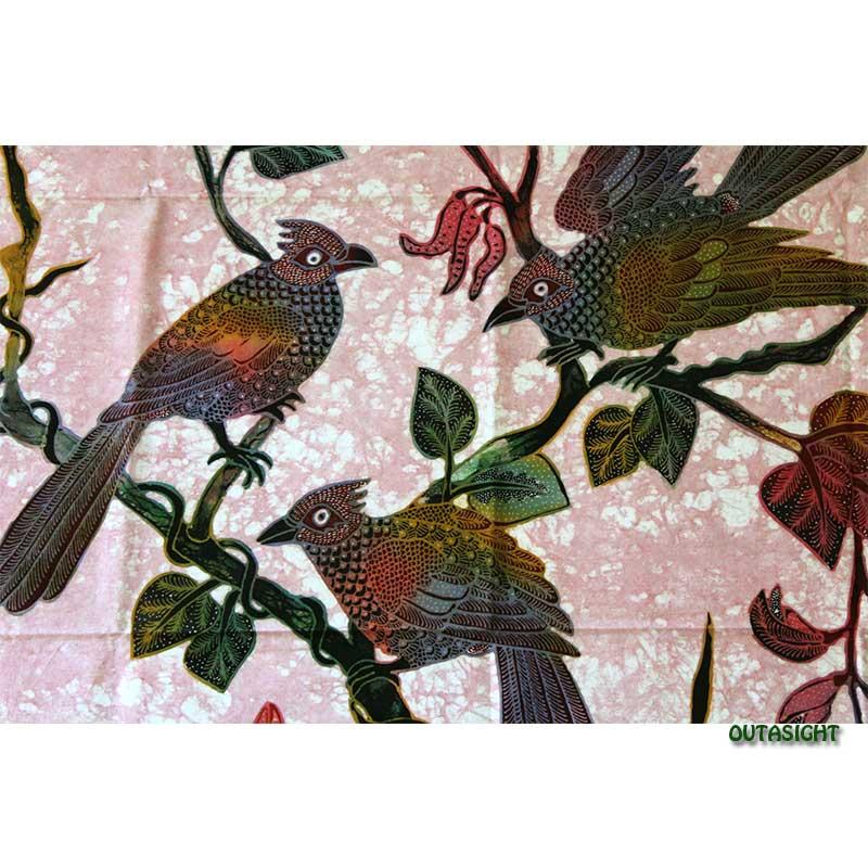 バティックペインティング (手描きろうけつ染絵画) No.91 インドネシア INNT-97