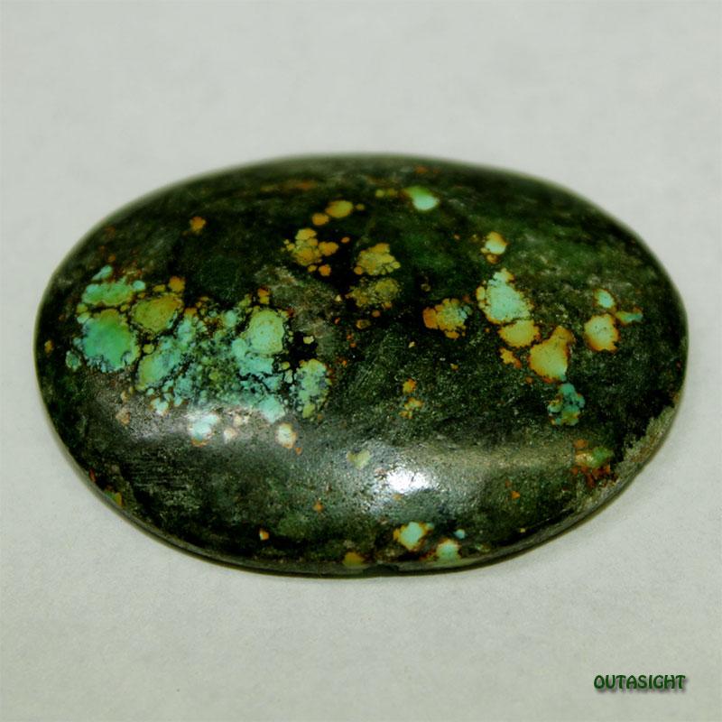 チベタンターコイズ ルース 天然石 5114-04