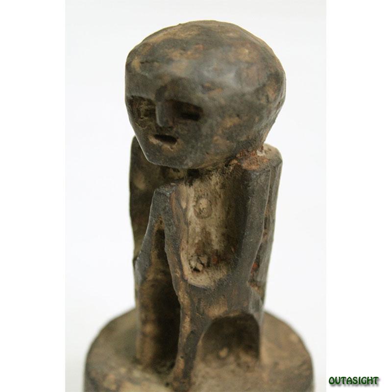 木彫り像 アンティーク ネパール NAS-06