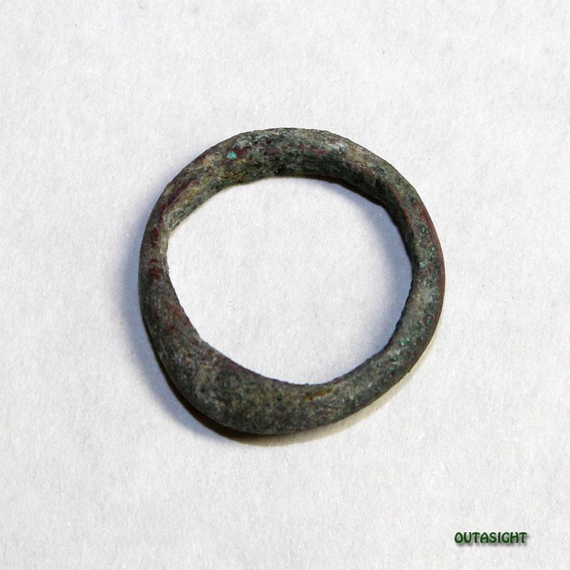 ブロンズリング アンティーク パキスタン 15010607-04