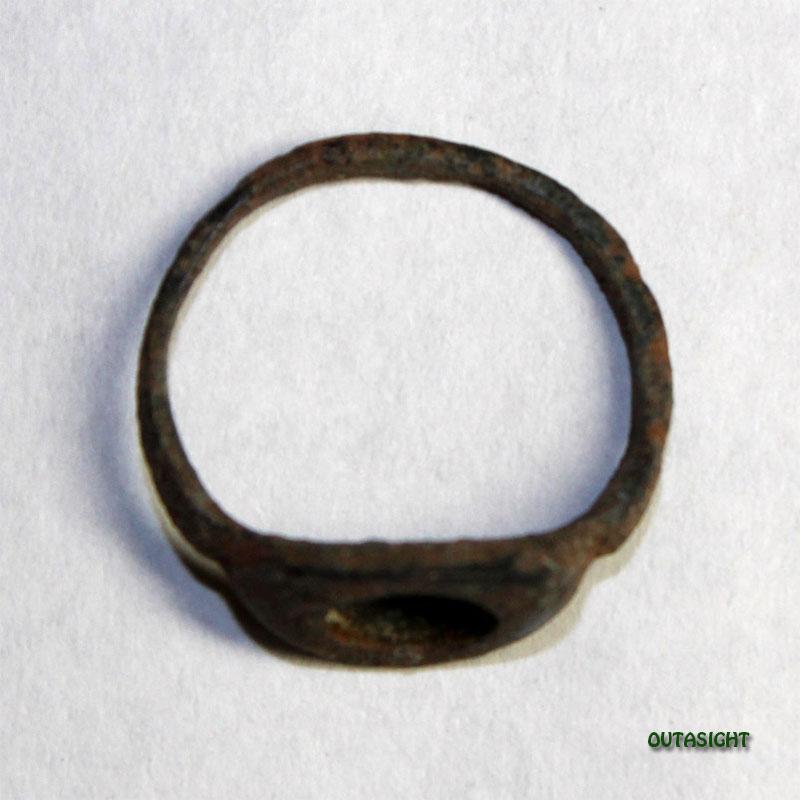 ブロンズリング アンティーク パキスタン 15010607-07