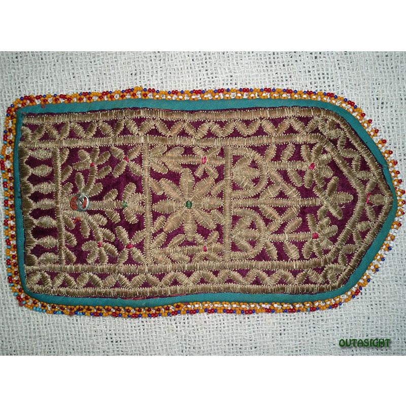 織物財布 三つ折りJ オールド アフガニスタン
