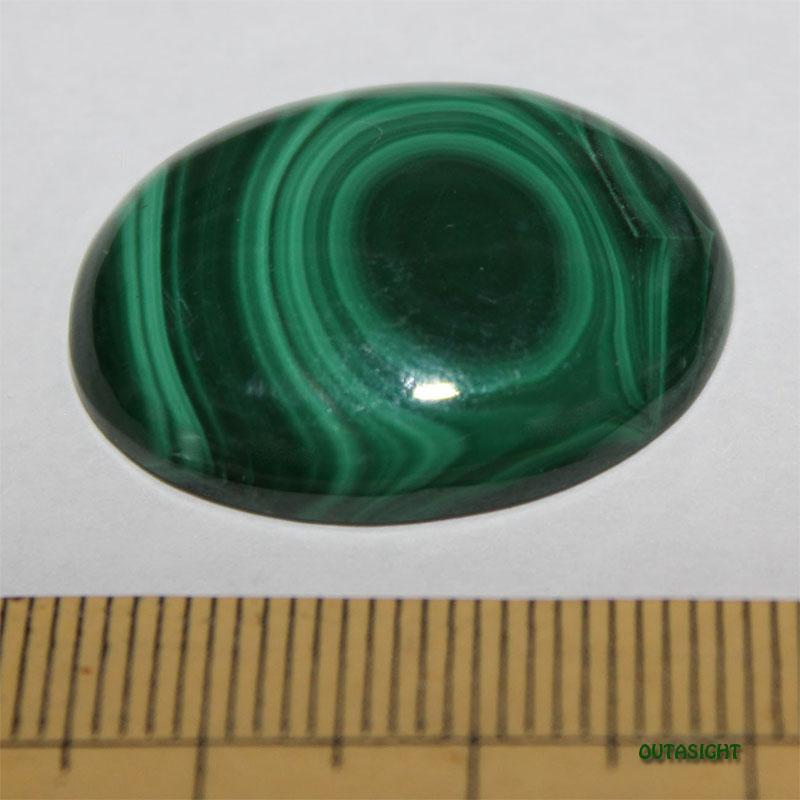 マラカイト ルース 天然石 51081201-D