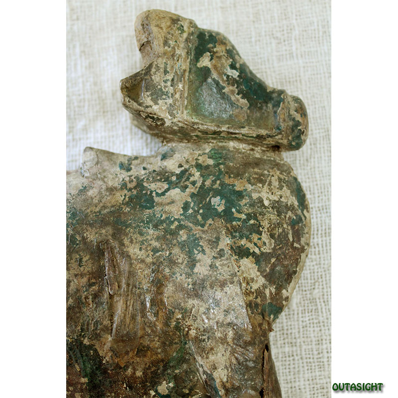 木彫り 牛 アンティーク ネパール NAS-09