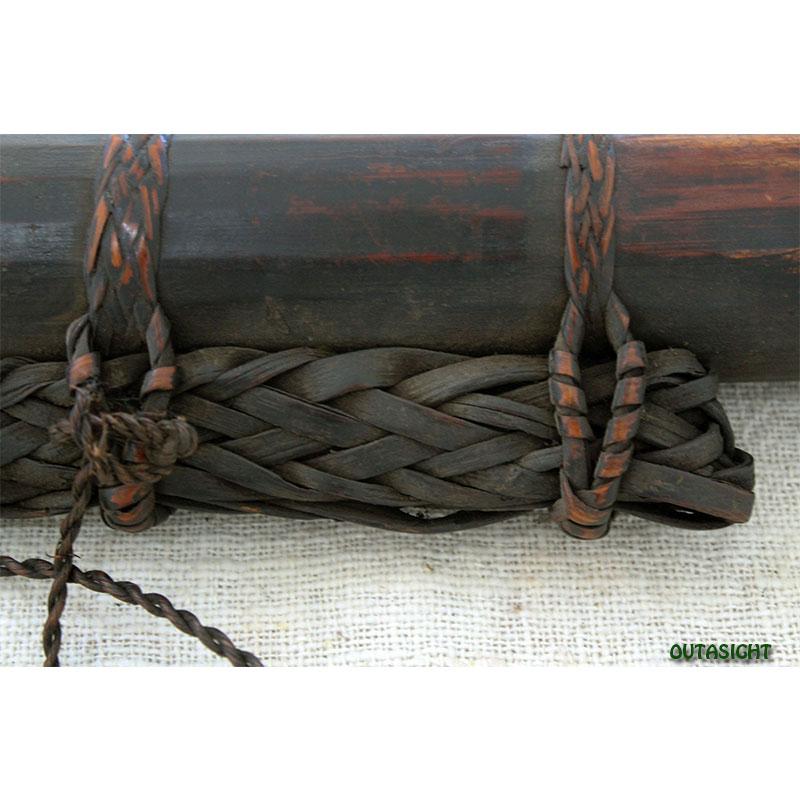 矢筒 竹製 ブータン NAO-30